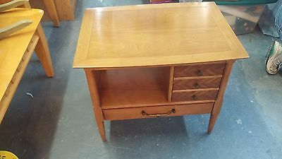 Vtg Tomlinson Sophisticate Night Stand/ End Table Mid Century Modern