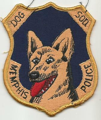 Memphis TENNESSEE TN Police patch OLD Canine K9 Unit fully embroidered