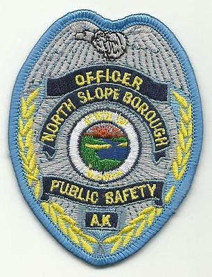 North Slope ALASKA AK Police Fire Search and Rescue SAR Public Safety patch