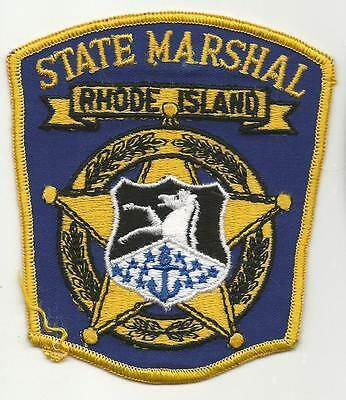 RHODE ISLAND RI State Marshal Sheriff Police patch old