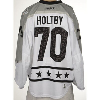 Braden Holtby Washington Capitals 2017 All-Star Game-Worn Jersey