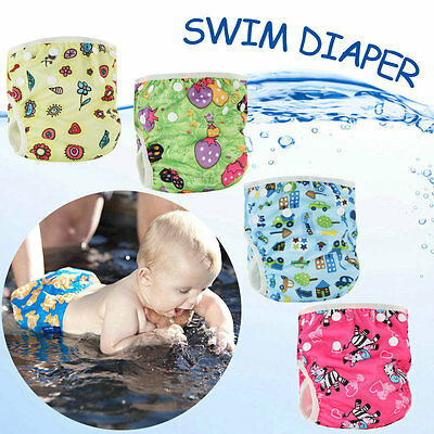 Baby Swimming Nappies Covers Diaper Waterproof Adjustable Changing Nappy Covers