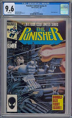 PUNISHER #1 - CGC 9.6 - WP NM+ 1st SOLO LIMITED SERIES 1986