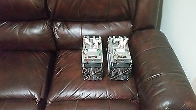 Bitmain Antminer S7 lot of 2 9.46H/s .25W/GH 28nm ASIC Bitcoin Miner BTC
