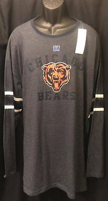 online retailer 8082f 977d1 CHICAGO BEARS JERSEY Style Long Sleeve Shirt New W Tags Size 4Xl Nfl