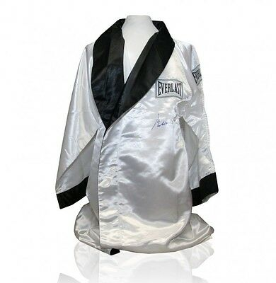 Muhammad Ali Hand Signed Official Boxing Robe with Certificate Of Authenticity