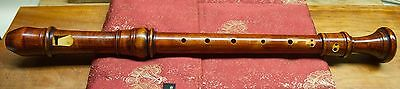 Baroque Alto Recorder, Stanesby copy by Martin Wenner, A=415 with Demo recording