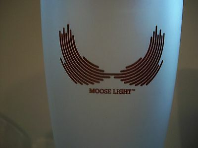 Rare- Moosehead Light- Lager- Frosted-Glass