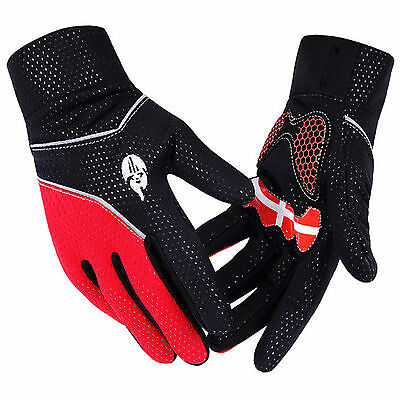 MTB Windproof Road Cycling Bike Bicycle Full Finger Glove Sport Cycling Gloves