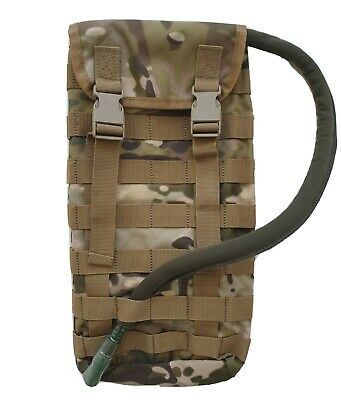 Hydration Pouch Molle Multicam + Free!! 2Lt Wide Mouth Bladder - Mil Spec - Tas