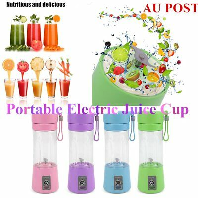 Portable USB Electric Fruit Juicer Smoothie Maker Blender Bottle Juice Shaker DB