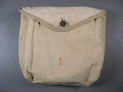 WWI U.S. Military M-1910 Haversack Meat Can (Mess Kit) Pouch