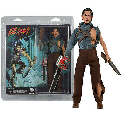 Neca Evil Dead 2 Dead By Dawn Hero Ash Action Figures Doll Reel Toys Collection