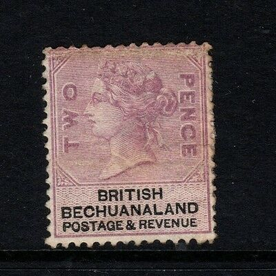 1888 Bechuanaland SG 11 - 2d lilac and black - mounted mint