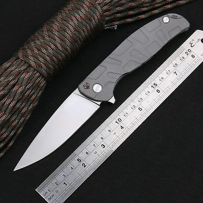 Russia Shirogorov 95 Full Steel Camping Survival Tactical Hunting Folding Knife