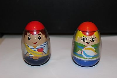 2009 Weebles Wobble Kids from Hasbro - #30 and #54