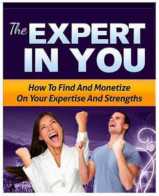 The Expert In You PDF eBook with Resale rights