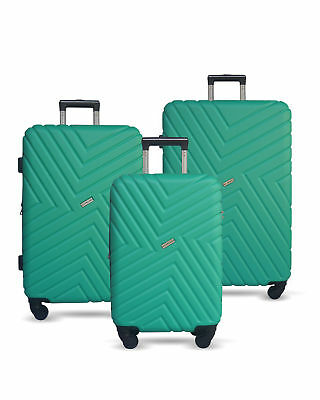"20"" Luggage Suitcase Trolley Set Travel Carry On Bag Hard Case Lightweight"