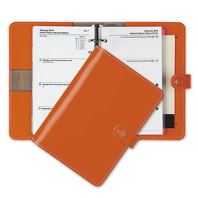 NEW Filofax Original Burnt Orange Personal Organiser