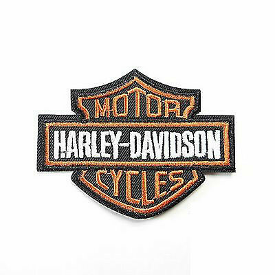 Harley Davidson Logo Patch  3 -1/4 Inches