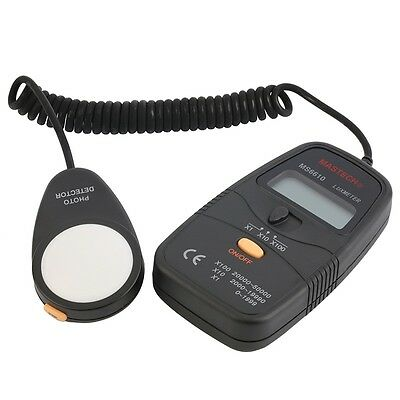 Hot Mastech MS6610 Digital Lux Meter Luxmeter Light Meter 0-50000lux AU