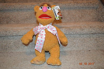 Brand New Fozzie Bear Plush Toy (The Muppets) From Disney Store