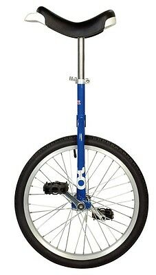 QU-AX Unicycle onlyone 20 blue 19003 with aluminum rim