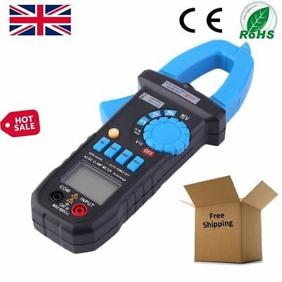 Handheld Digital Clamp Multimeter AC DC Volt Amp Meter Tester