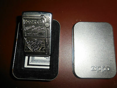 Zippo lighter..solid used and rare million dollar. Machine..02