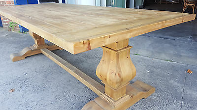 New French Provincial Timber Dining Table