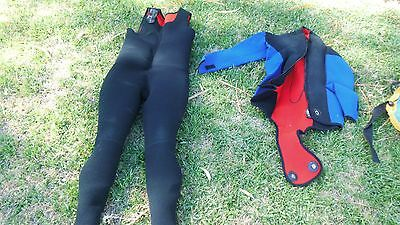 SCUBA Diving wetsuit and extras