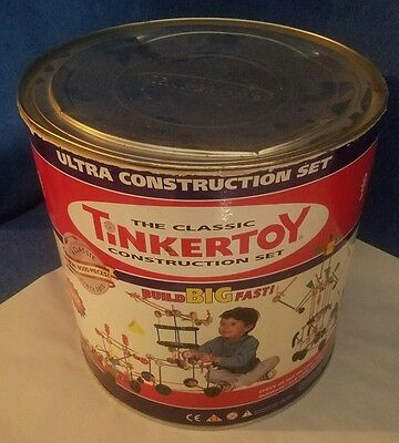 TINKERTOY Ultra Construction Set 166 of 250 Pieces