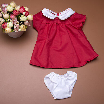 Red Dress With Briefs Dress For 18 inch American Girl Doll Clothes Fashion Gift