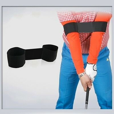 Golf Swing Trainer Adjustable Arm Band Beginner Swing Corrector Training Aid New