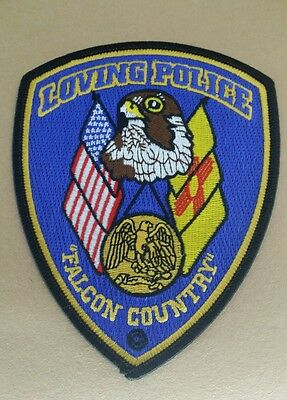 Loving, New Mexico Police Shoulder Patch Nm