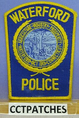 Waterford, Connecticut Police Shoulder Patch Ct