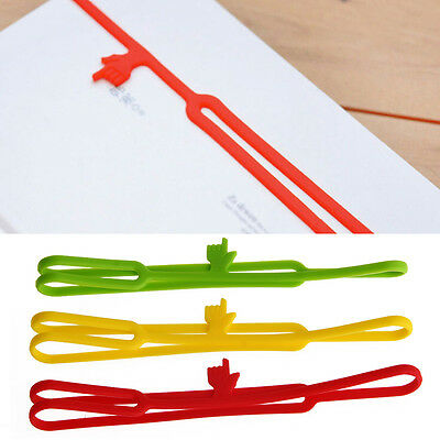 Cute Silicone Finger Pointing Bookmark Book Funny Marker Stationery Gift