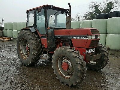 Case international 895 tractor 4x4 can deliver