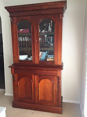 Victorian Style Bookcase. Antique Style.