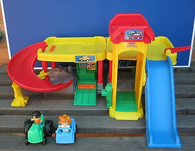 Fisher Price Little People Ramps Around Garage