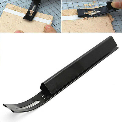 Leather Craft Safety Beveler Skiver Thinning Blade DIY Folds Seams Cutting Tool