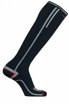 NORTHWAVE Calcetines ciclismo hombre COMPRESSION HIGH negro/rojo