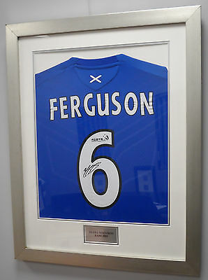 Barry Ferguson Autographed Football Shirt at a Bargain Price