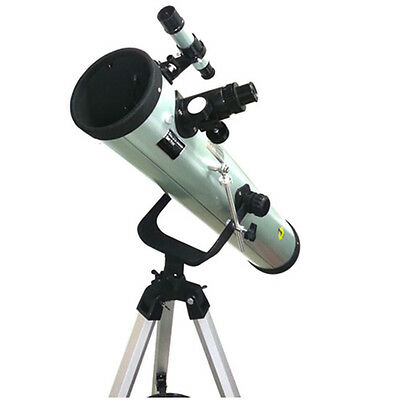 Genuine Reflector Astronomical Telescope 76x700 mm with Tripod and Accessories