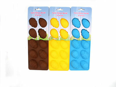 12 easter silicone egg moulds 10 section 2 styles make your own bulk wholesale l
