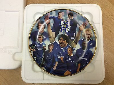 Danbury Mint Chelsea Collector's Plate Great Strikers by Rob Perry