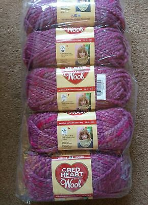 Super Chunky Knitting Wool In Multi Colours 5X100G