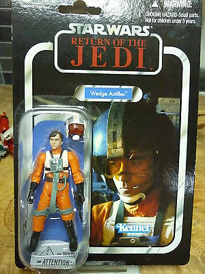 Wedge Antilles Star Wars Return Of The Jedi Figure New Kenner 2012