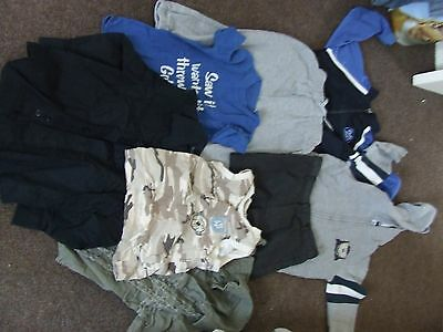 bundle of boys clothes age 4/5 years
