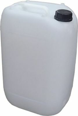 1 x 25L 25 Litre Plastic Water Containers Carrier Drum